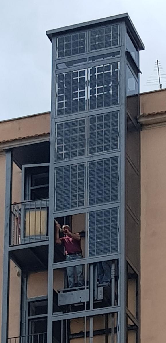 Ascensore Fotovoltaico